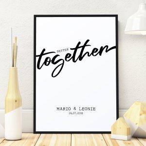 Better together Holzbild