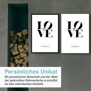 LOVE Ohne Rahmenkontur Gross